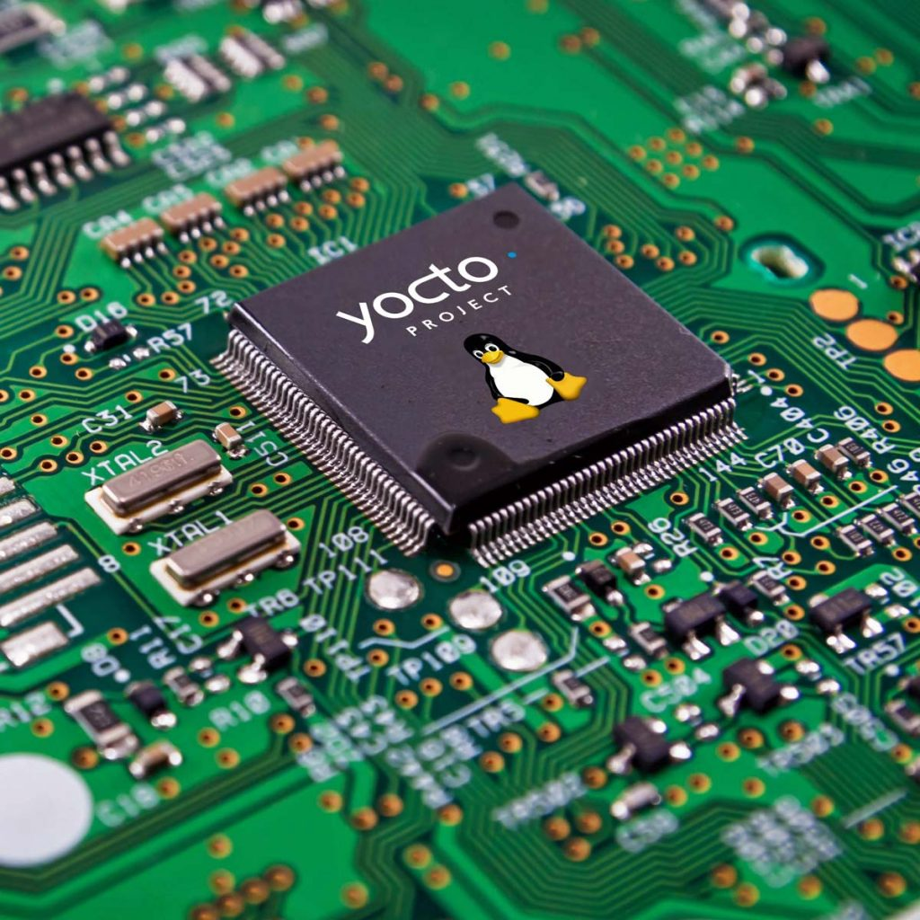 Sistema di sviluppo Yocto hardware/software con driver e kernel custom